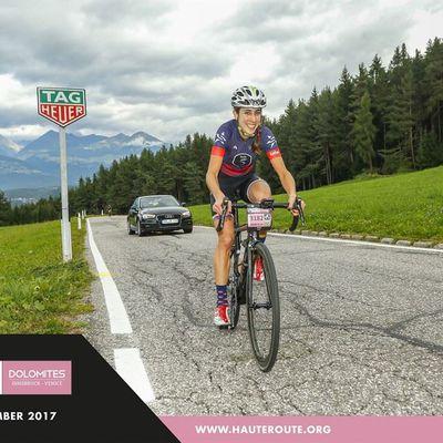 Marcella Toldi, une Brésilienne victorieuse dans les Dolomites - Marcella Toldi est venue du Brésil pour faire la Haute Route Dolomites en Italie. Pour sa première course en Europe, la Brésilienne s'est imposée chez les femmes. - ( Tous droits réservés 2000-2017 © Vélo 101, le site officiel du Vélo ®)