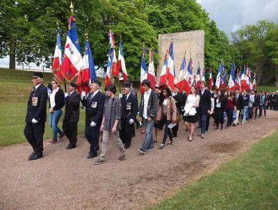 Dijon commémore la résistance au mémorial Jean-Moulin