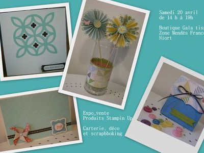 Expo vente Stampin Up