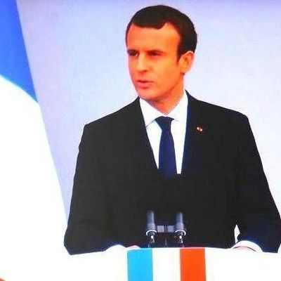 Emmanuel Macron sous le sceau de l'Histoire