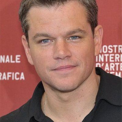 Matt Damon: The Water Boy