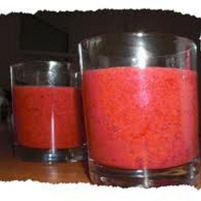 Comment préparer du jus de fruits rouges ? (ingrédients, préparation)
