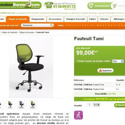 Quels sont les dix modèles de chaises de bureau design ? (photos, adresses)