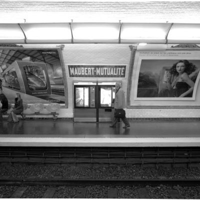 Le métro de Paris Maubert-Mutualité : descriptif (stations, adresse, etc.)