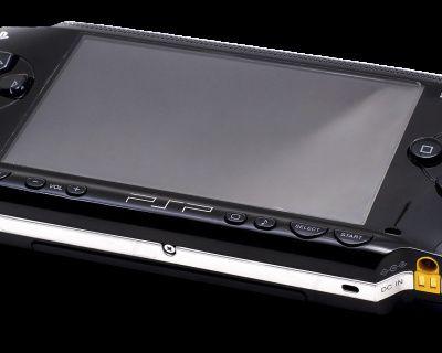 PSP test, la playstation portable