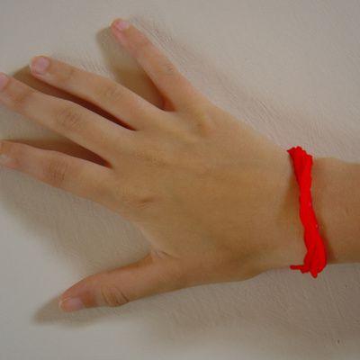 Bracelet rouge : les différents sens du port d'un bracelet rouge