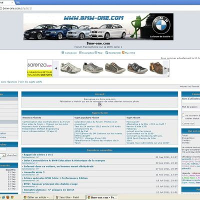 Tour sur le site Internet Bmw-one.com (prix, bons plans, etc.)