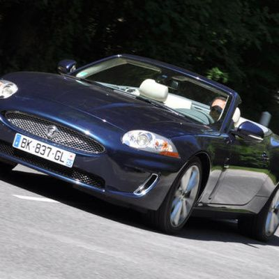 Jaguar cabriolet : essais