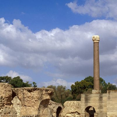 """Carthage, a name wich means """"New City"""" in Phoenician"""