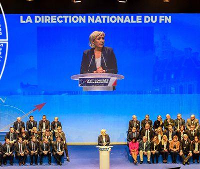 """Le Front National devient """"Rassemblement National"""""""