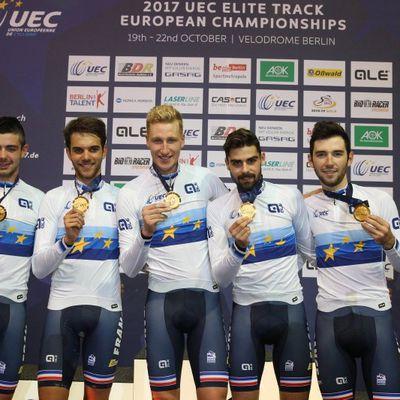 Les championnats d'Europe sur Piste à Berlin