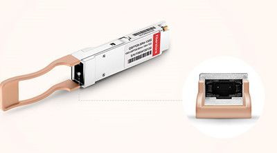 QSFP28 Transceiver With MTP or LC Duplex Cables