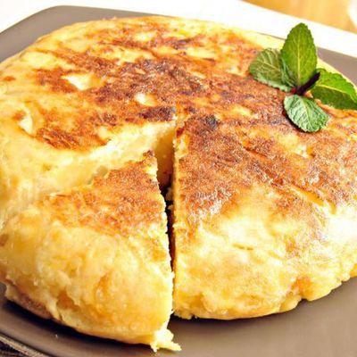 Omelette soufflée style Cabane à Sucre
