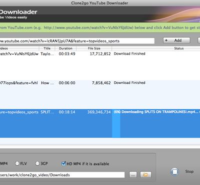 Clone2Go Released Free YouTube Downloader for Mac V2.1.0