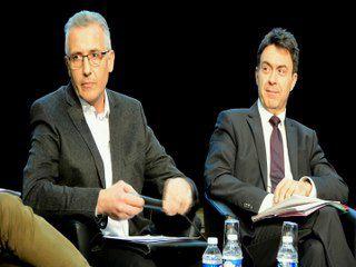 Louis Proton à la réunion publique du SAGYRC, à Francheville