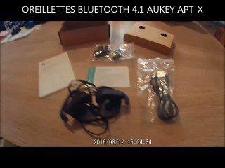 TEST: écouteurs intra-auriculaires bluetooth Aukey APT-X