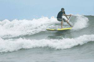 Stand Up Paddling in Santa Teresa Costa Rica
