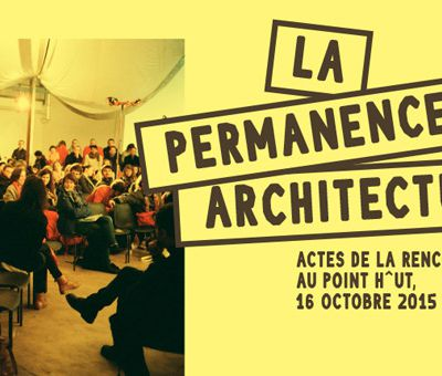 [PUBLICATION] La permanence architecturale