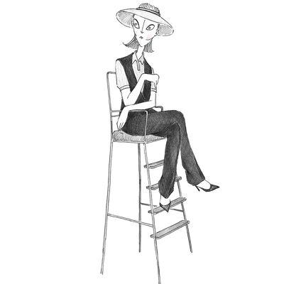 Site d'illustrations de mode HYPERMONDAINE