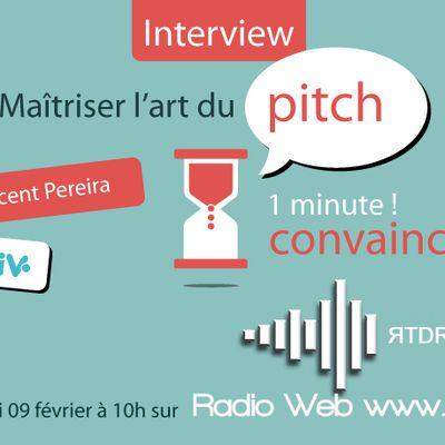 Une émission radio pour maîtriser l'art du pitch