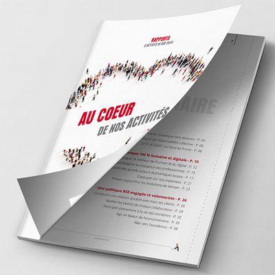 Inaativ réalise le rapport d'activité 2014 de la Caisse d'Épargne Aquitaine Poitou-Charentes… en mode collaboratif