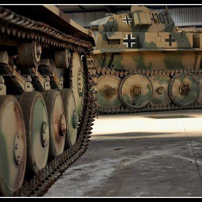 Le Musée des blindés de Saumur