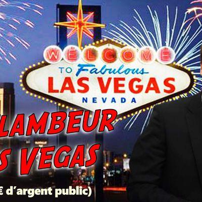 Macron en pré-campagne en 2016 à Las Vegas : 381 000 € d'argent public