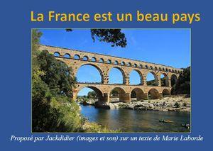 La France est un beau pays
