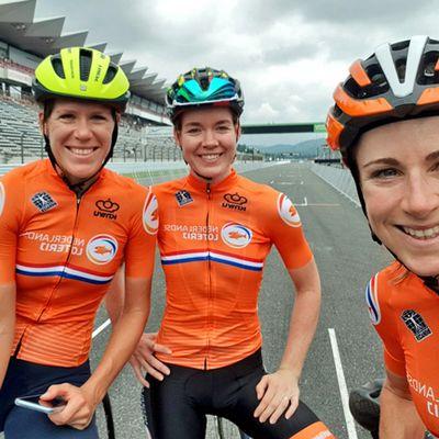 Les Oranges déjà à Tokyo - Les trois stars néerlandaises du contre-la-montre sont déjà à Tokyo pour préparer les Jeux Olympiques 2020. + Klein remet les pendules - BeNe Ladies Tour # 2B. Coup double pour Lisa Klein (Canyon-SRAM) qui s'offre le CLM devant Marlen Reusser. + Du changement à Watervliet - BeNe Ladies Tour # 2A. Jelena Eric (Alé Cipollini) gagne l'étape matinale. Kirstie Van Haaften nou