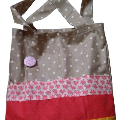 DIY tote bag de témoin [wedding]