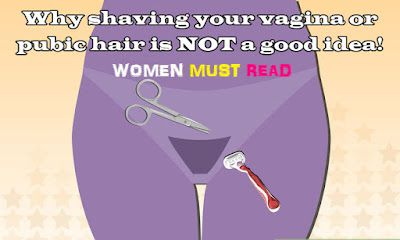 LADIES INFO || Do you know Shaving Your Pubic Hair Can Increase Risk