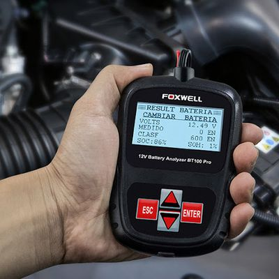How to use Foxwell BT100 to test car battery