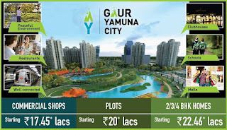Gaur Yamuna City - Plots Villas Apartment Yamuna Expressway