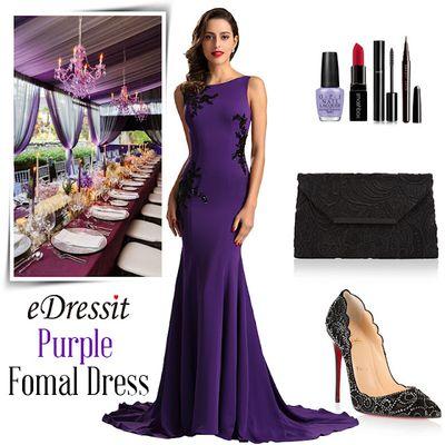 Robe Simple Violette