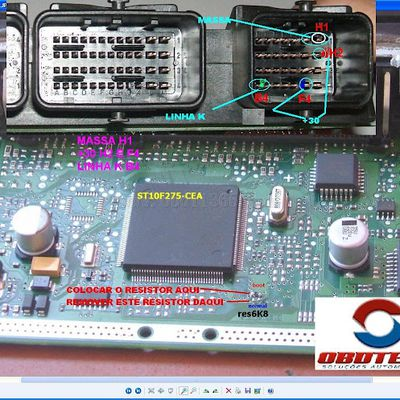 Peugeot Bosch ME 7.4.9 Boot Pinout to Fgtech Galletto