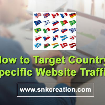 how to increase country specific website traffic