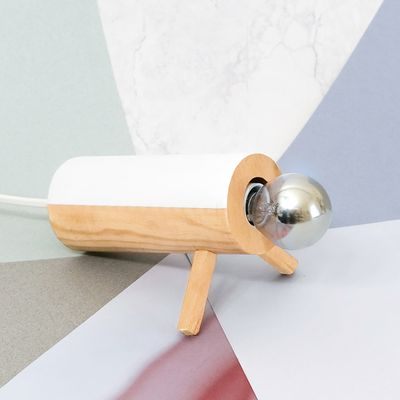 Lampe en bois (tutoriel gratuit DIY)