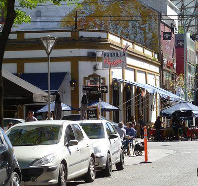 Quartier de Palermo. Buenos Aires