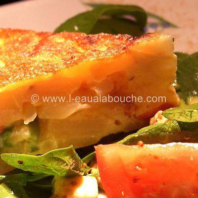 Tortilla de Patates au Chorizo & Piments