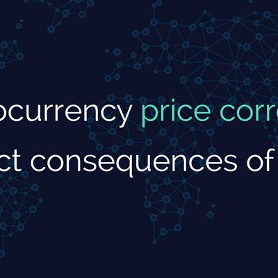 """Cryptocurrency price correction or direct..."