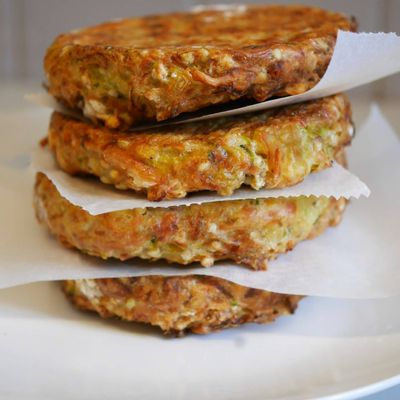 Galettes courgette sarrasin
