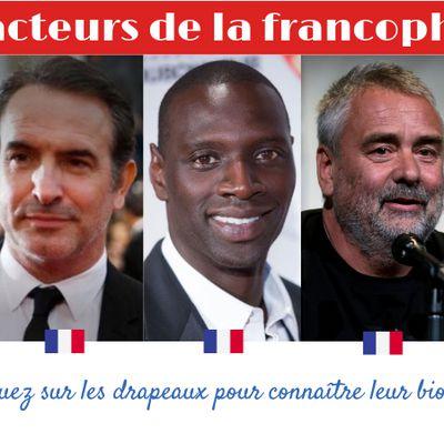 Des acteurs de la francophonie, par les 3eD