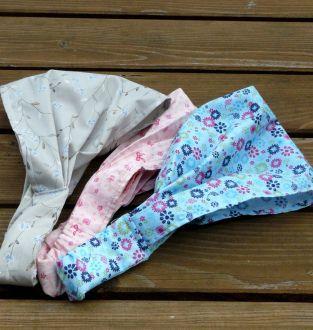 Bandeau (pour filles de 4-10 ans) (tutoriel - DIY)