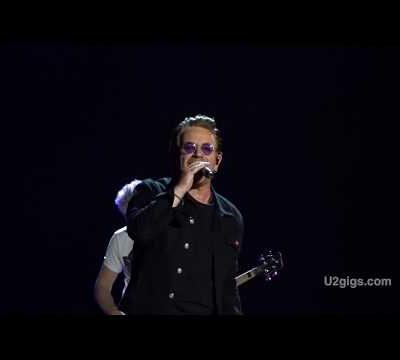 U2 -Barcelone Espagne 18/07/2017