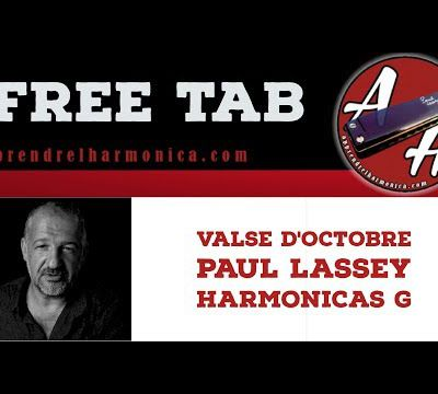Valse d'Octobre - Paul Lassey - Harmonica G