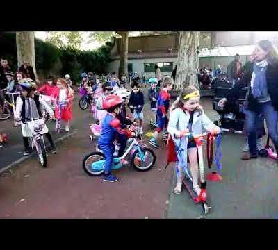 Parade à vélos