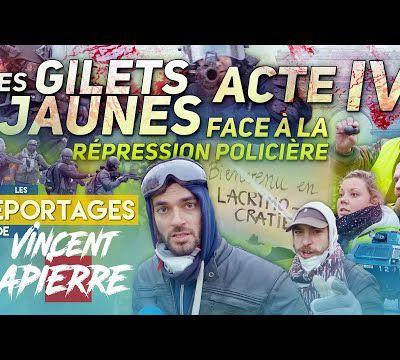 LA RÉPRESSION DES GILETS JAUNES, ACTE IV