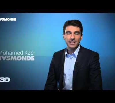 Mohamed Kaci, présentateur de l'émission Orient-Express sur TV5 Monde
