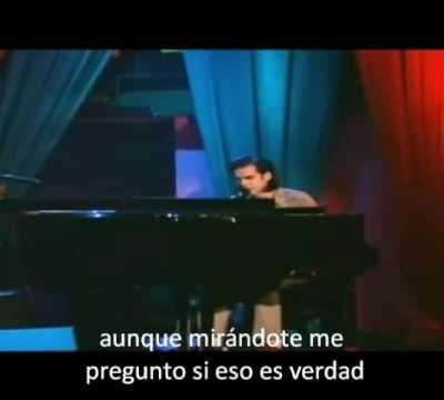"Nick Cave: ""Into my arms"""