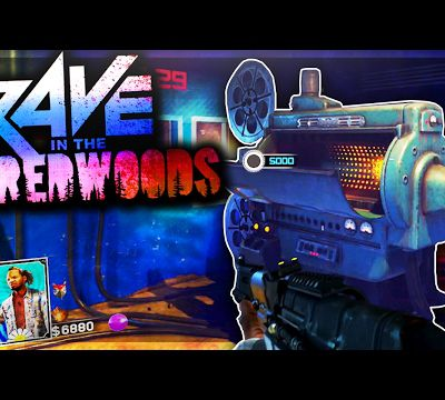 Tuto / Infinite Warfare : avoir le pack à punch sur Rave in the Redwoods !